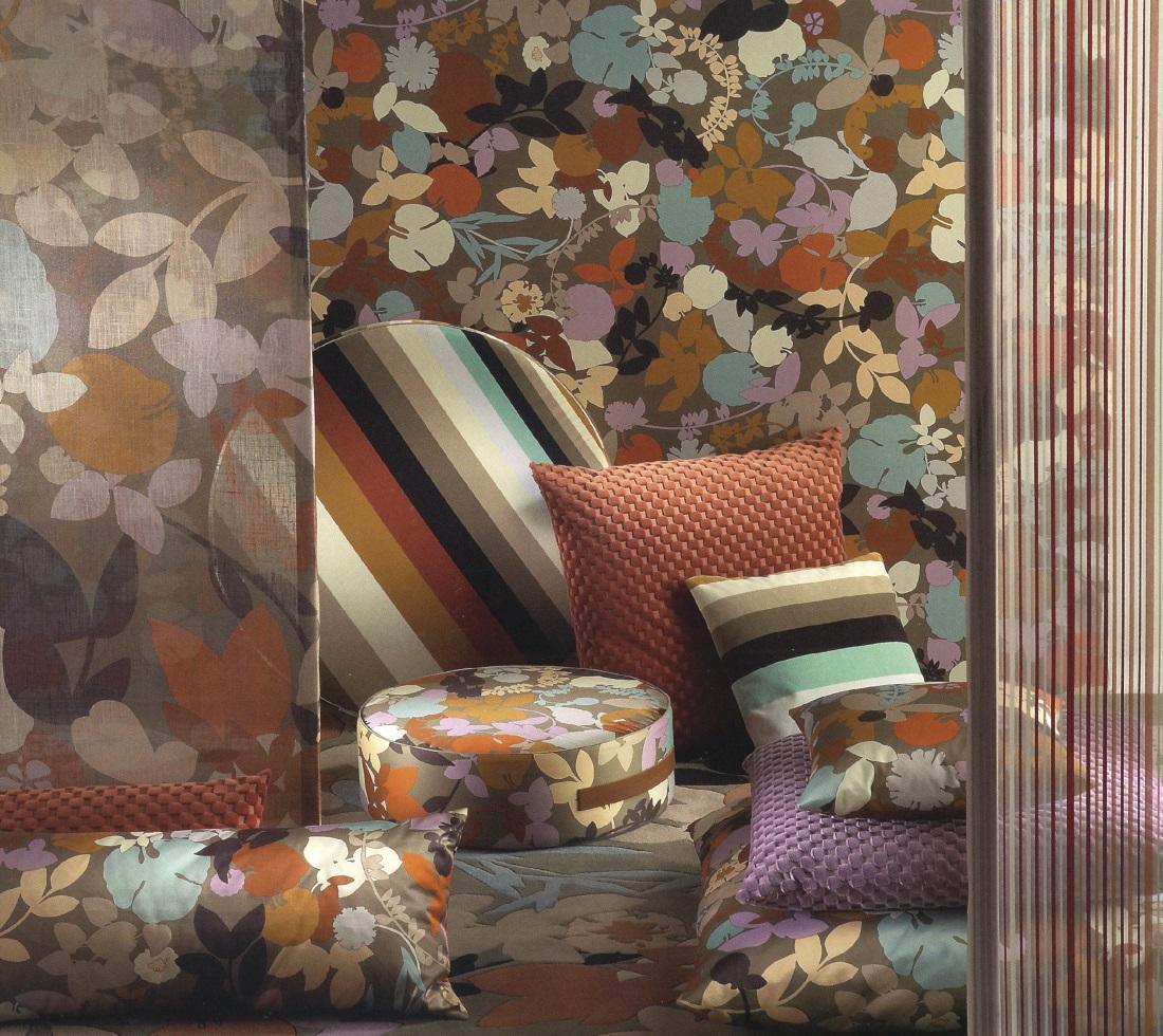 Tessuti missoni per divani poltrone in tessuto missoni for Tessuti per divani classici