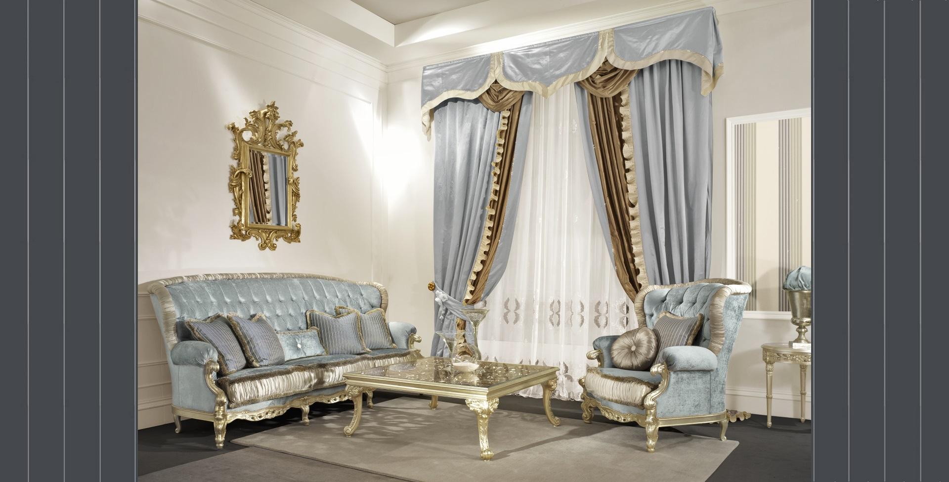 Divani classici di lusso divani in stile for Divani di lusso marche